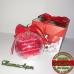 Коледна топка със снимка 8см + Подарък Кутийка